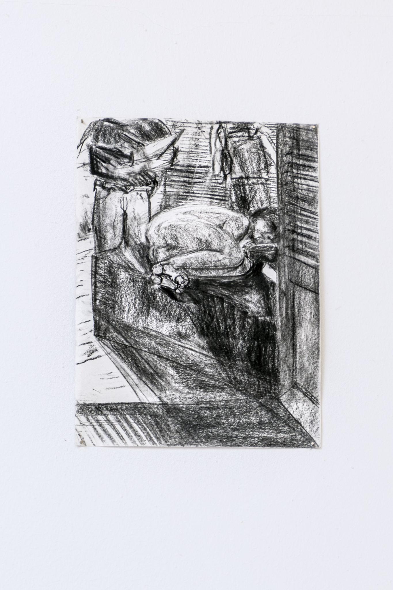 Franziska_Koch_ohne_Titel_Kohle_auf_Papier_42x 30cm_2019