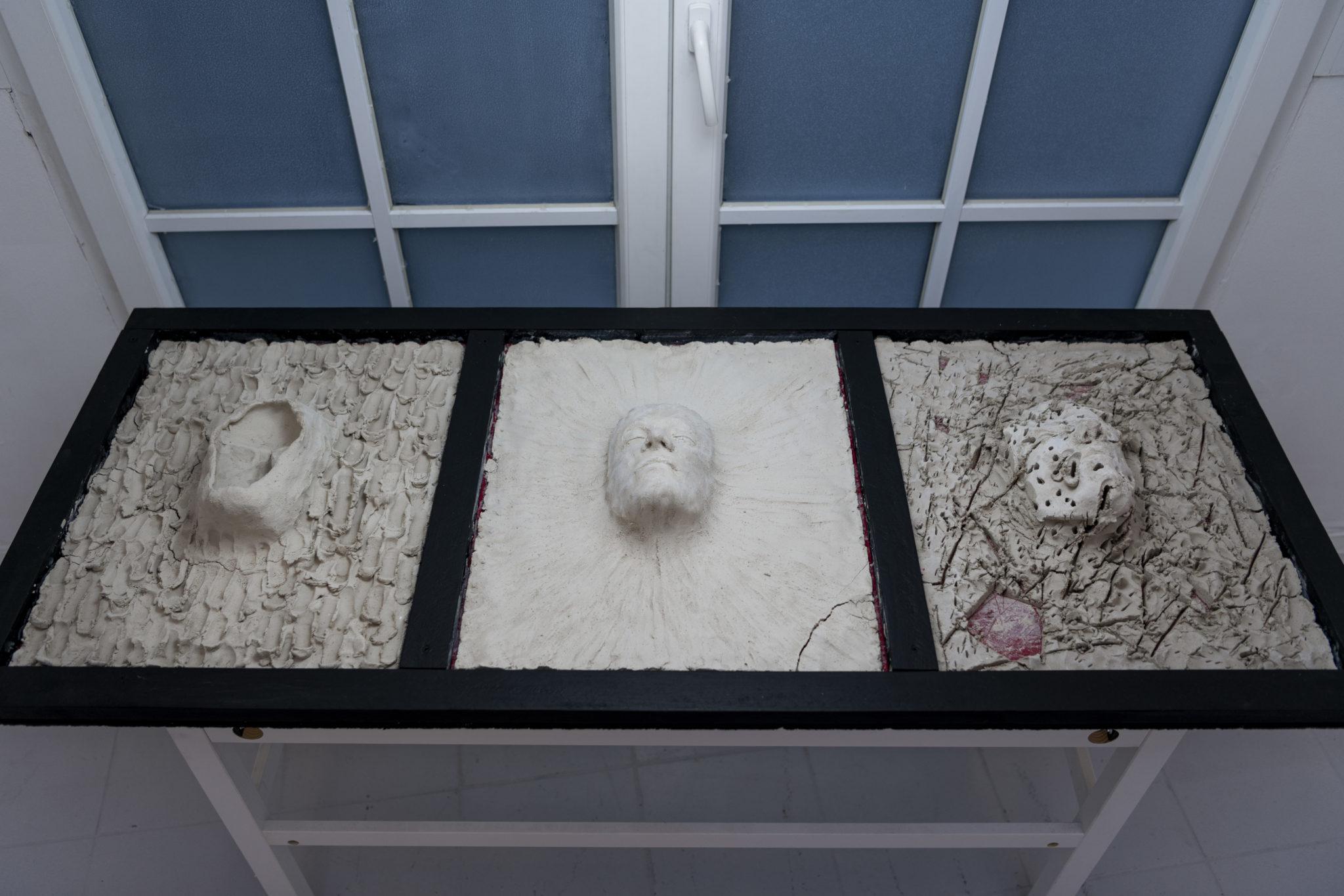 Nathanael Uhlig, Express Emotions, Draufsicht 61×151×20cm,2021