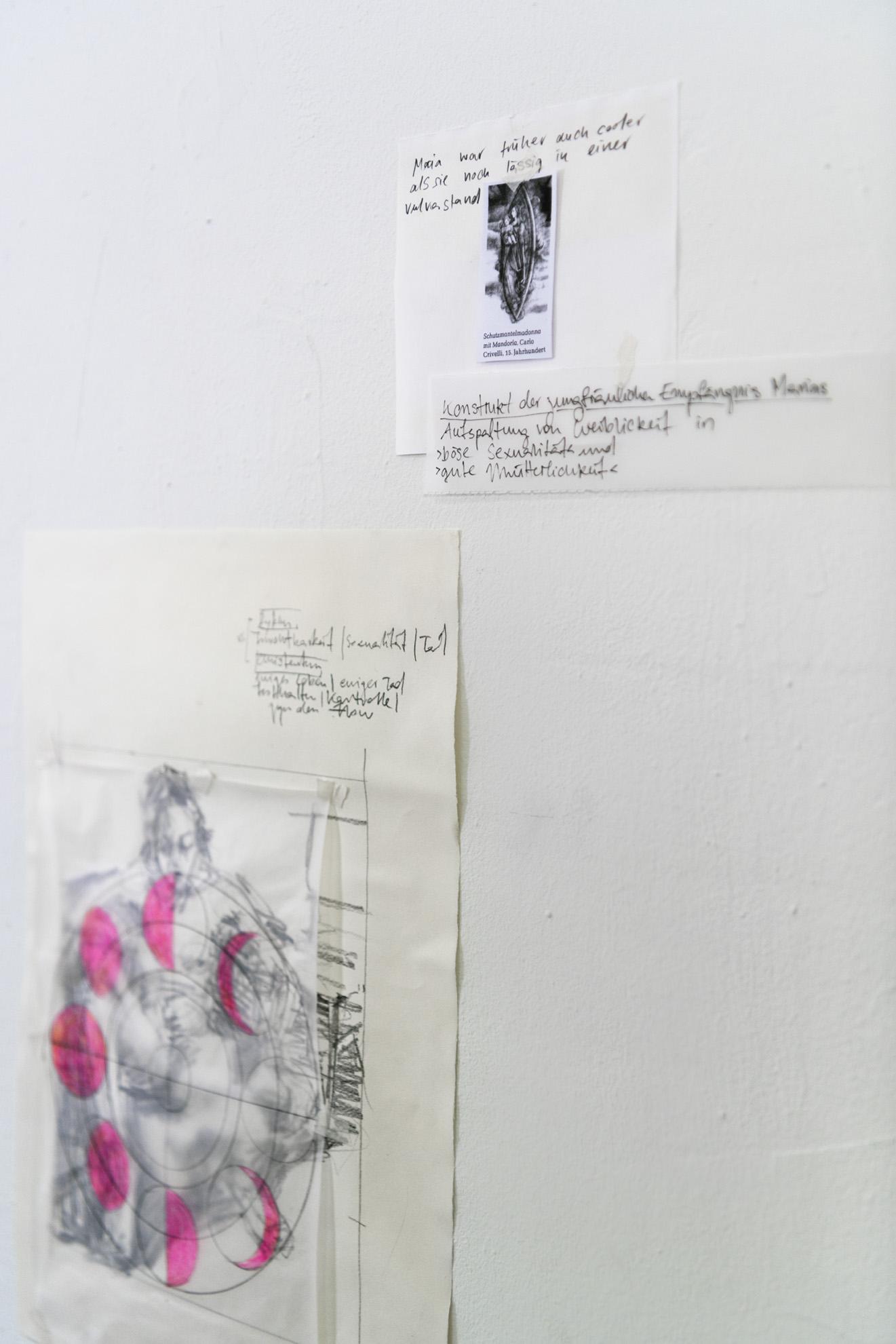 Svenja Jarisch, ohne Titel, Bleistift auf Papier, 2021 Ansicht