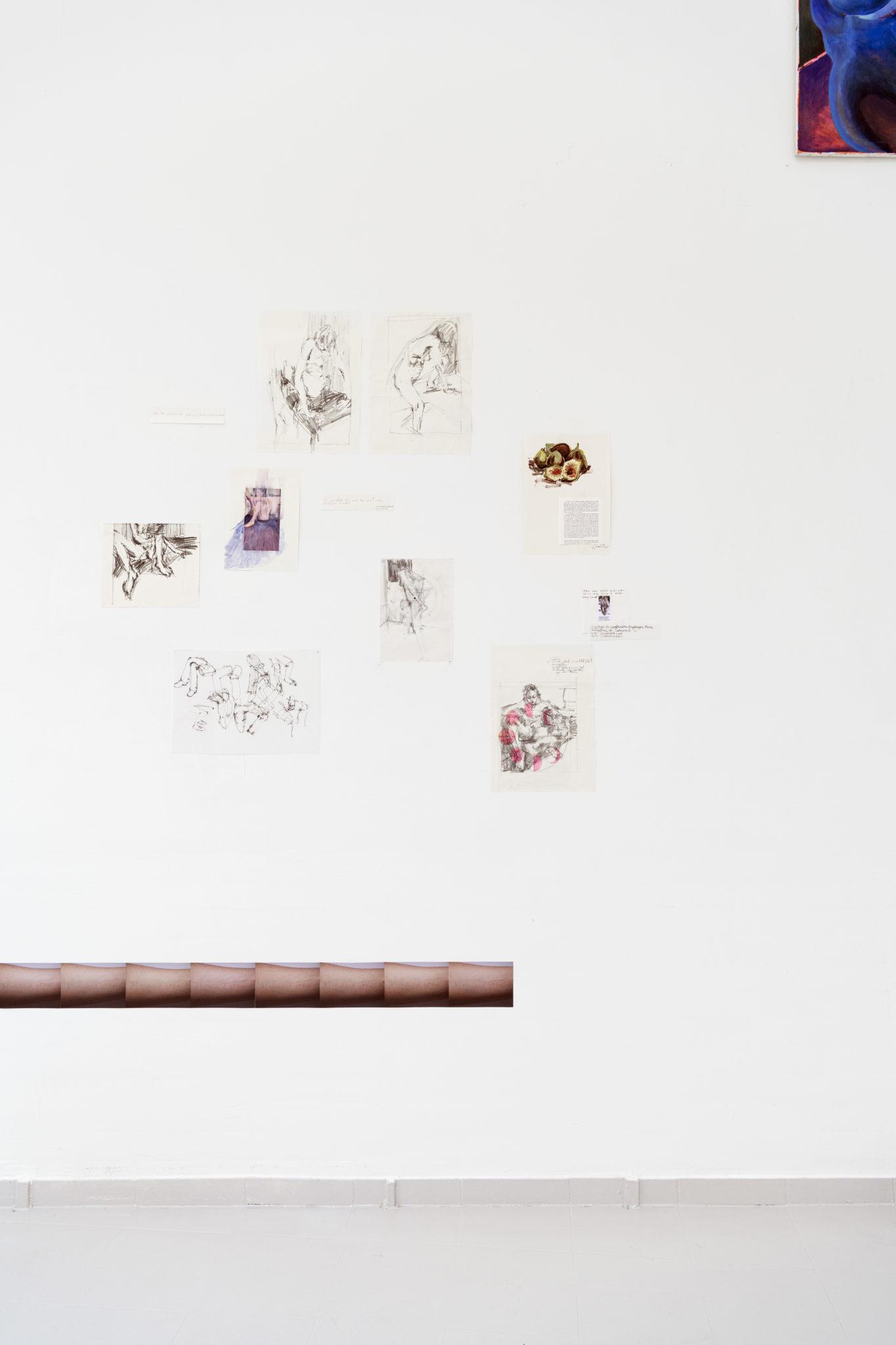 Svenja Jarisch, ohne Titel, Bleistift auf Papier, 2021