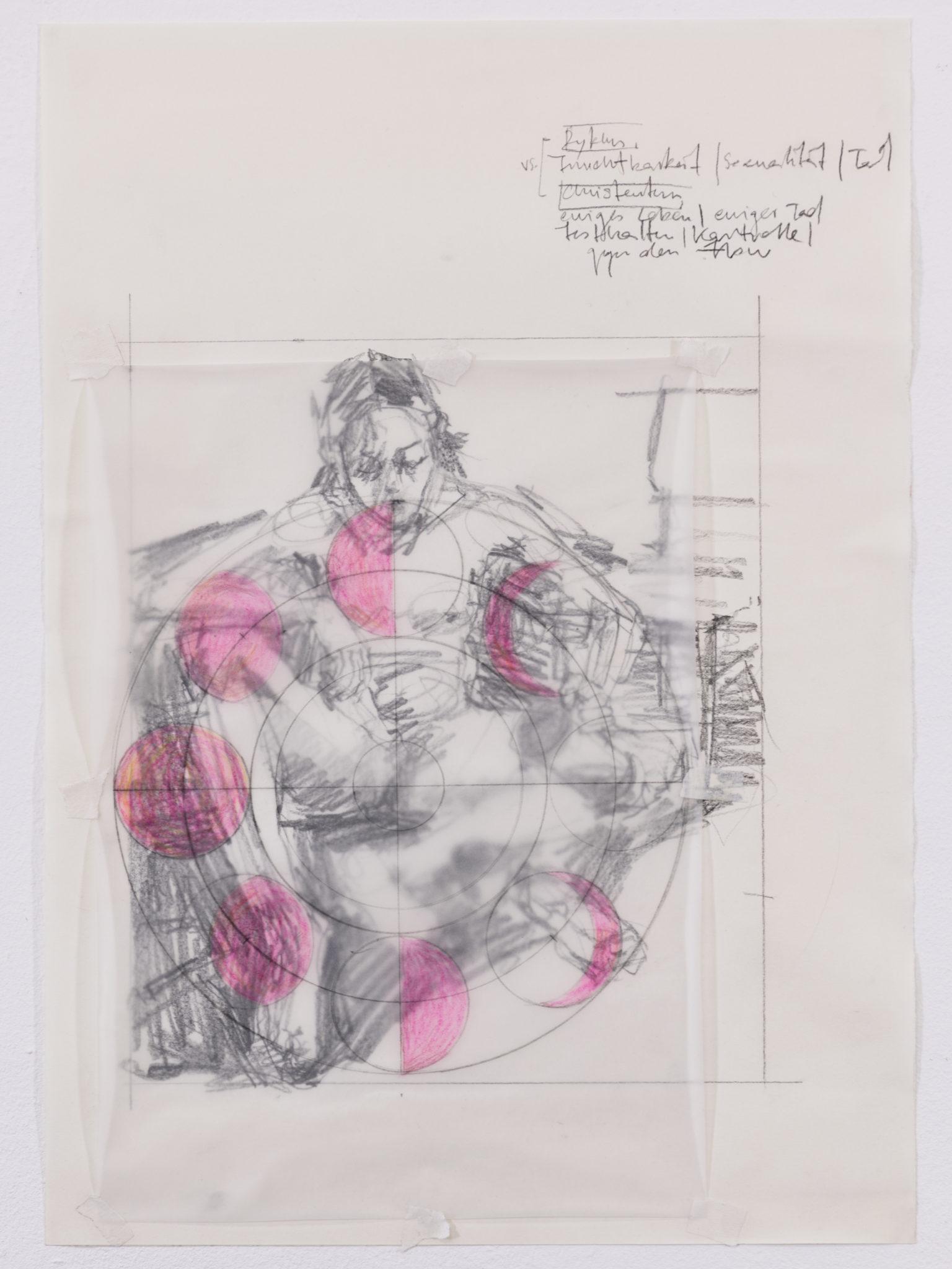 Svenja Jarisch, ohne Titel, Bleistift auf Papier, 42 x 29, 2021